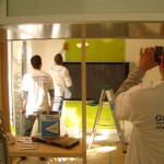 glass backsplash painted installer brian 2