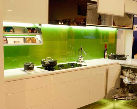 Charmant Put A Backpainted Glass Backsplash In Your Kitchen