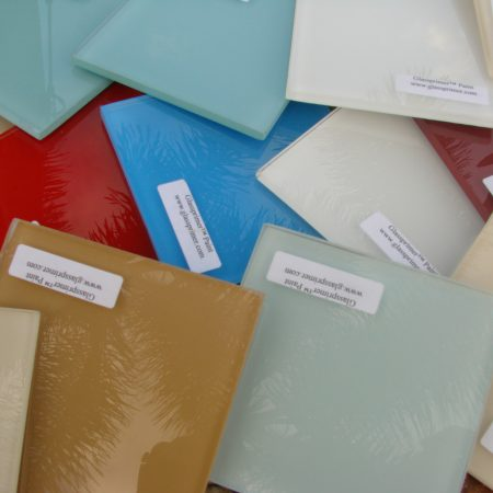 GPPP083® Painted Glass Samples