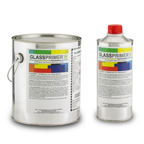 Glassprimer Glass paint