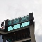 Glass bottom pool a first for Dallas
