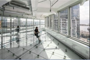 All Glass Office Debuts in Hong Kong