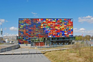 Iconic Glass structures - Netherlands Institute for Sound and Vision