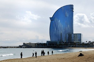 Iconic Glass structures – W Hotel, Barcelona