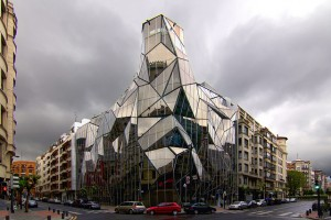 Iconic glass structures - Basque Health Department Headquarters