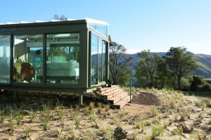PurePods – a glass twist on glamping