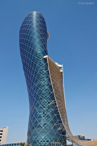 Iconic Glass Structures – Capital Gate, Abu Dhabi