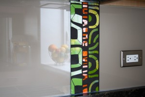 Backpainted glass a hit for home décor