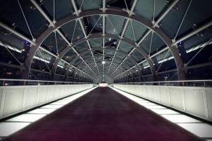 Iconic Glass Structures – Old Port Footbridge