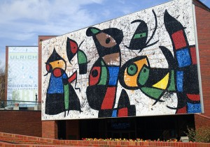 Miro's Only Glass Mural Restored