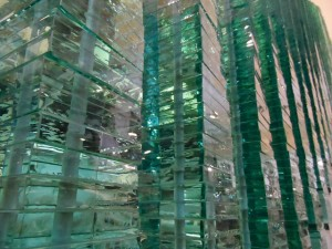 Glass Adds Style to Home