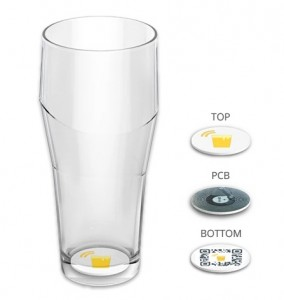 Your beer glass could be spying on you