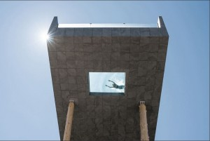 Hotel Hubertus's Glass Pool Takes Swimming To A New Space