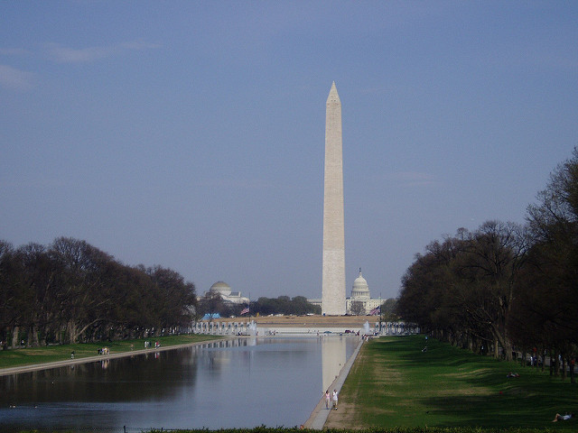 Washington Monument Gets Glass Addition