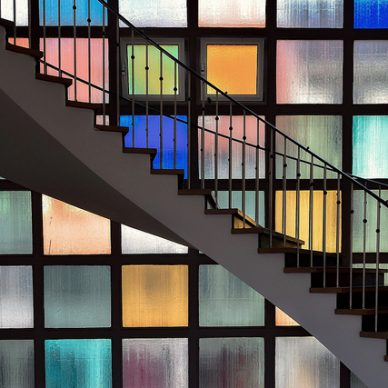 Colored electrochromic glass may be available soon