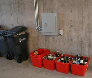 More major cities dump glass recycling