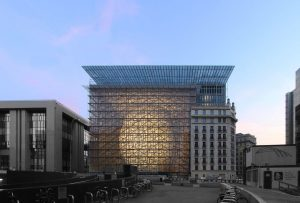 Iconic Glass Structures – EU Headquarters