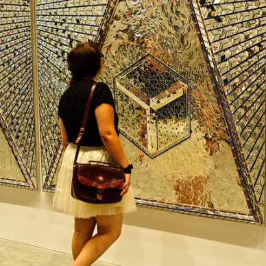 Back painted glass permeates world cultures
